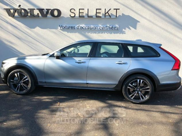 Volvo V90 D5 AWD 235ch Pro Geartronic 477- Argent Electrique Occasion - 2