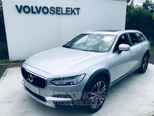 Volvo V90 D5 AWD 235ch Pro Geartronic Gris C Occasion - 0