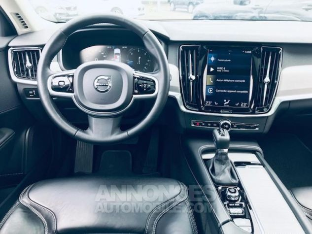 Volvo V90 D5 AWD 235ch Pro Geartronic Gris C Occasion - 14