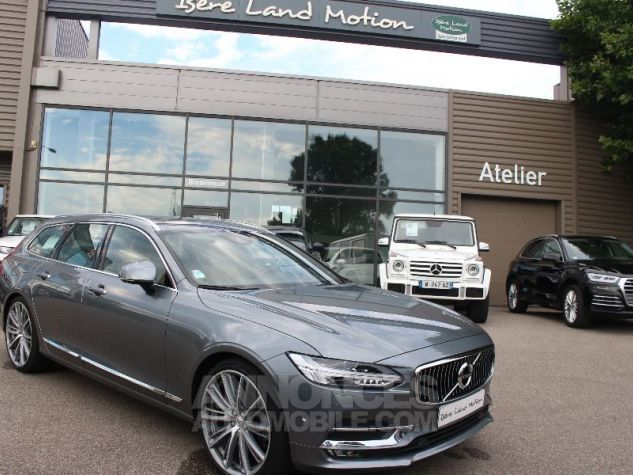 Volvo V90 II D5 AWD 235 INSCRIPTION LUXE GEARTRONIC 8 GRIS Occasion - 0