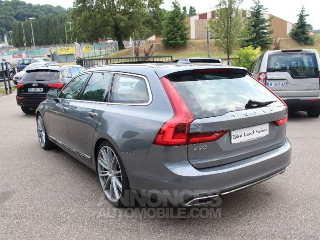 Volvo V90 II D5 AWD 235 INSCRIPTION LUXE GEARTRONIC 8 GRIS Occasion - 2