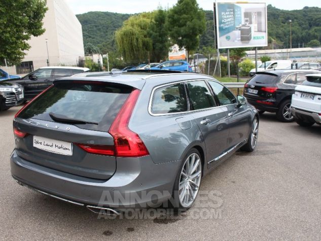 Volvo V90 II D5 AWD 235 INSCRIPTION LUXE GEARTRONIC 8 GRIS Occasion - 4