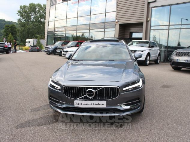 Volvo V90 II D5 AWD 235 INSCRIPTION LUXE GEARTRONIC 8 GRIS Occasion - 15
