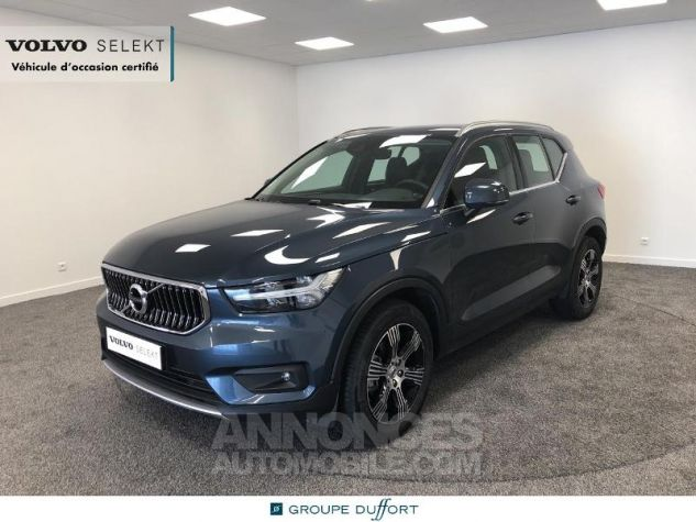 Volvo XC40 D3 AdBlue 150ch Inscription Geartronic 8 Bleu Denim Occasion - 0