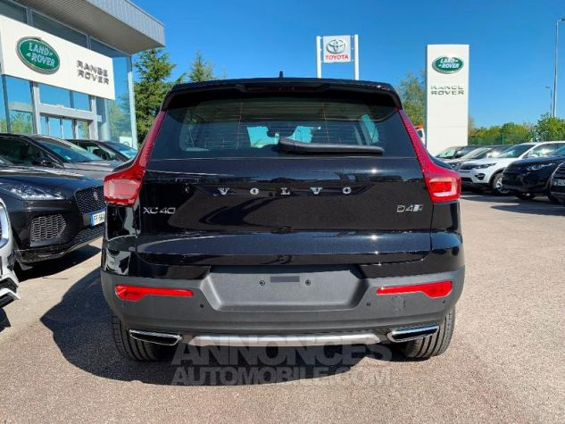 Volvo XC40 D4 AdBlue AWD 190ch Inscription Luxe Geartronic 8 NOIR ONYX Occasion - 8