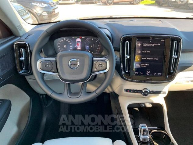 Volvo XC40 D4 AdBlue AWD 190ch Inscription Luxe Geartronic 8 NOIR ONYX Occasion - 12