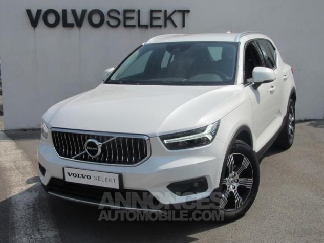 Volvo XC40 D4 AWD 190ch Inscription Geartronic 8 Blanc cristal Occasion - 0