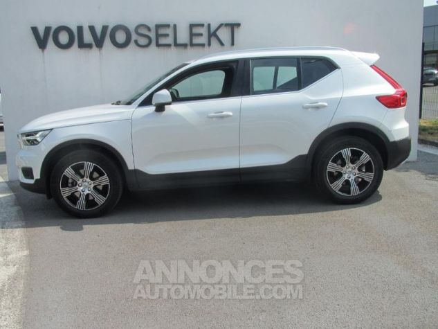 Volvo XC40 D4 AWD 190ch Inscription Geartronic 8 Blanc cristal Occasion - 2