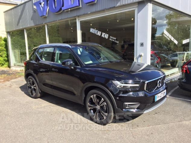 Volvo XC40 T3 156ch Inscription Luxe Noir Onyx Metallise Occasion - 0