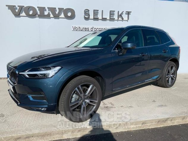 Volvo XC60 B4 AdBlue AWD 197ch Inscription Luxe Geartronic Bleu Denim Métallisé 723 Occasion - 0