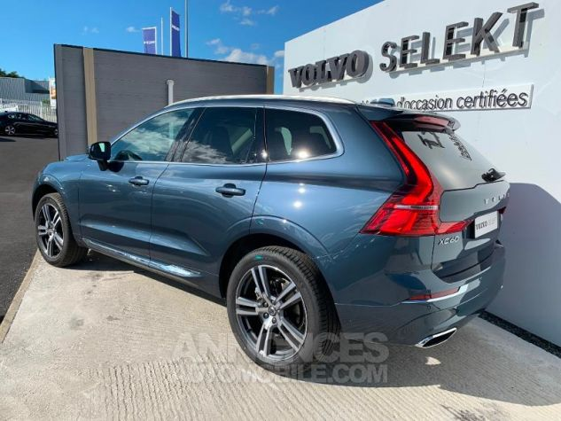 Volvo XC60 B4 AdBlue AWD 197ch Inscription Luxe Geartronic Bleu Denim Métallisé 723 Occasion - 1