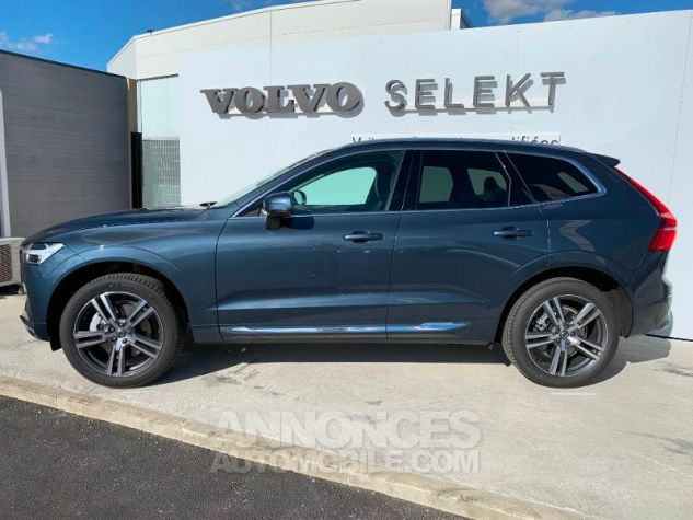 Volvo XC60 B4 AdBlue AWD 197ch Inscription Luxe Geartronic Bleu Denim Métallisé 723 Occasion - 5