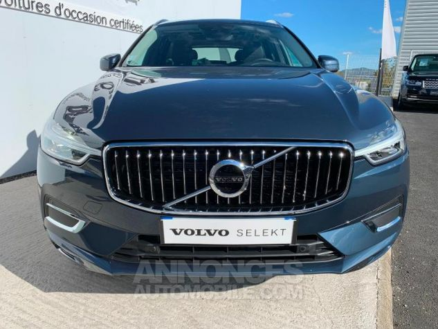 Volvo XC60 B4 AdBlue AWD 197ch Inscription Luxe Geartronic Bleu Denim Métallisé 723 Occasion - 6