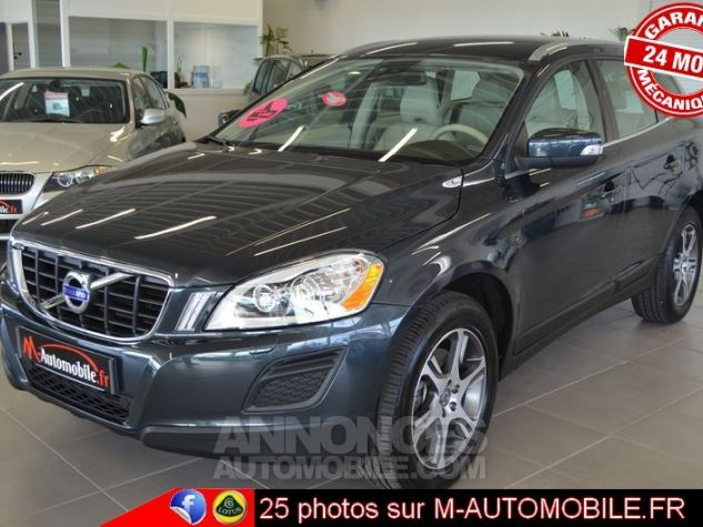 Volvo XC60 D3 163CH DRIVE MOMENTUM ANTHRACITE Occasion - 3