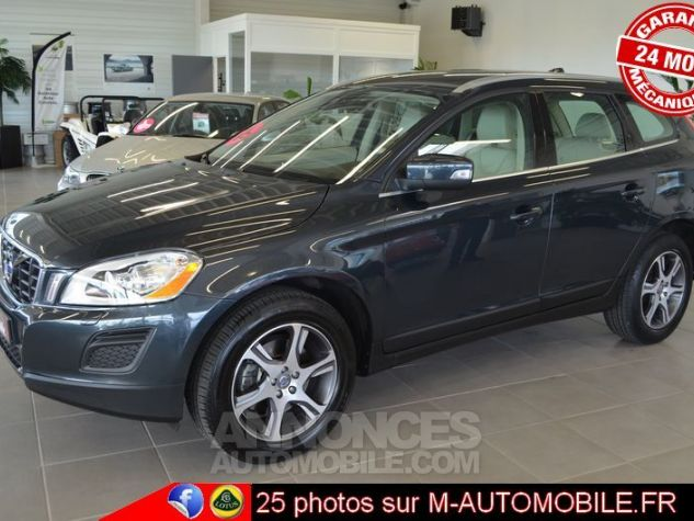 Volvo XC60 D3 163CH DRIVE MOMENTUM ANTHRACITE Occasion - 4
