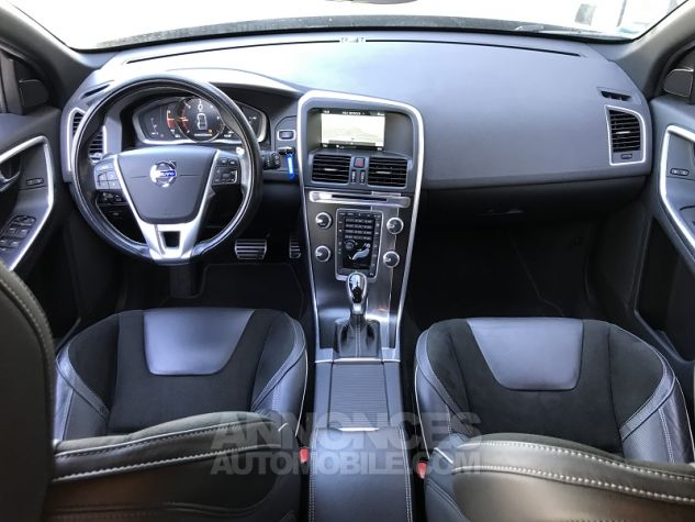Volvo XC60 D4 181CH R-DESIGN GEARTRONIC Gris Fonce Occasion - 2