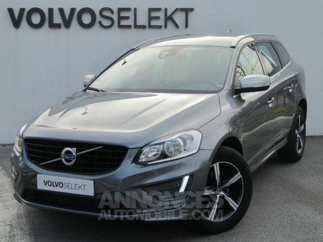 Volvo XC60 D4 190ch R-Design Geartronic Gris Osmium Occasion - 0