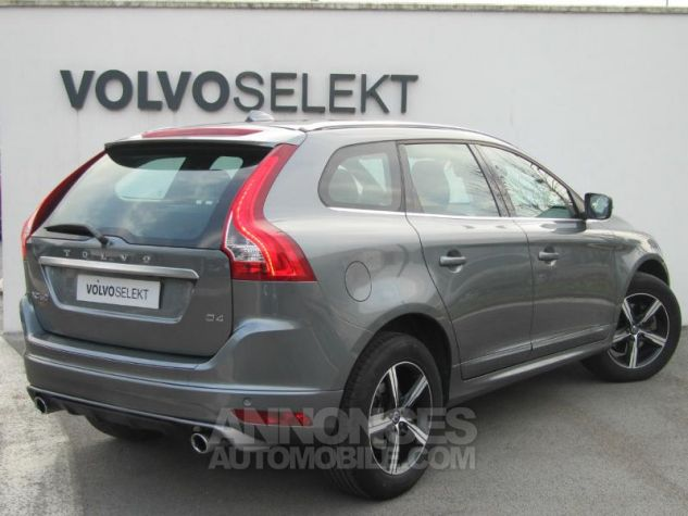 Volvo XC60 D4 190ch R-Design Geartronic Gris Osmium Occasion - 1