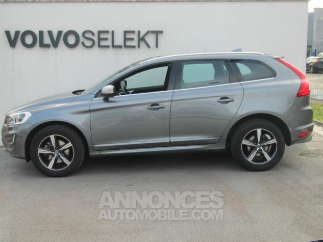Volvo XC60 D4 190ch R-Design Geartronic Gris Osmium Occasion - 2