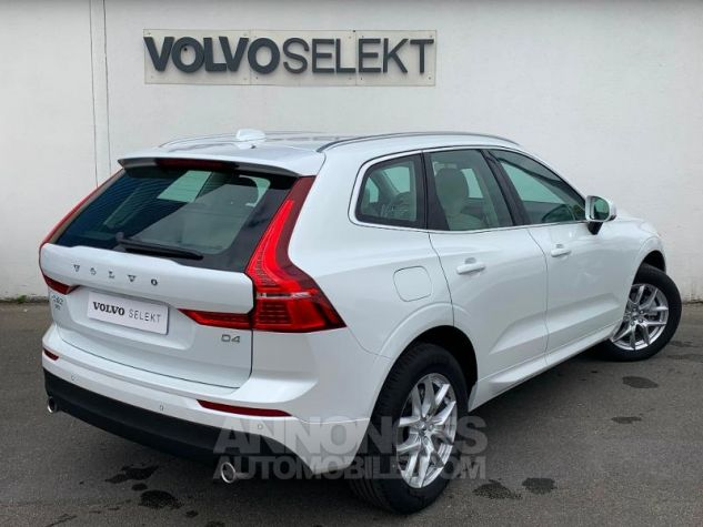 Volvo XC60 D4 AdBlue 190ch Business Executive Geartronic Blanc Cristal Occasion - 1