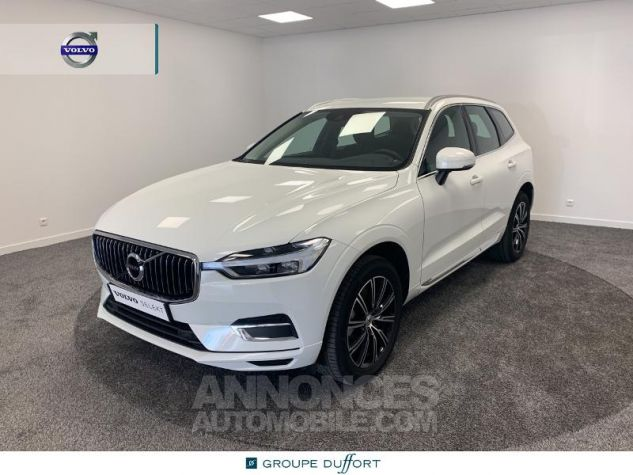 Volvo XC60 D4 AdBlue 190ch Inscription Geartronic Blanc Glace 614 Occasion - 0