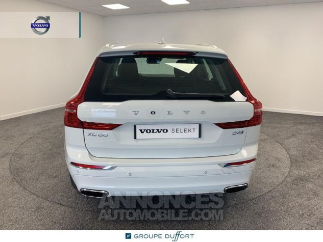 Volvo XC60 D4 AdBlue 190ch Inscription Geartronic Blanc Glace 614 Occasion - 4