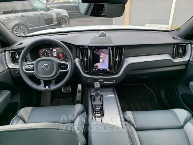 Volvo XC60 D4 AdBlue 190ch R-Design Geartronic 614 Blanc Occasion - 3