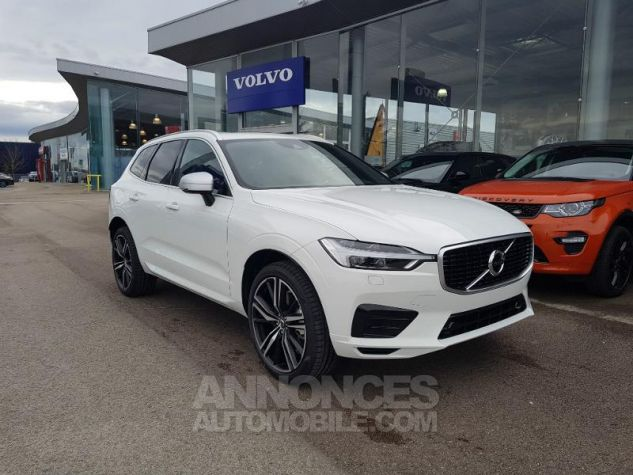 Volvo XC60 D4 AdBlue AWD 190ch R-Design Geartronic Blanc Glace 614 Occasion - 0