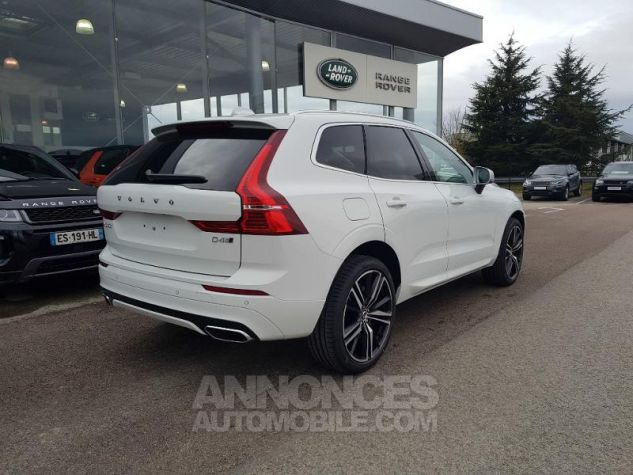 Volvo XC60 D4 AdBlue AWD 190ch R-Design Geartronic Blanc Glace 614 Occasion - 2