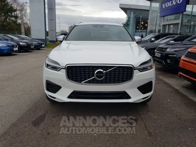 Volvo XC60 D4 AdBlue AWD 190ch R-Design Geartronic Blanc Glace 614 Occasion - 6