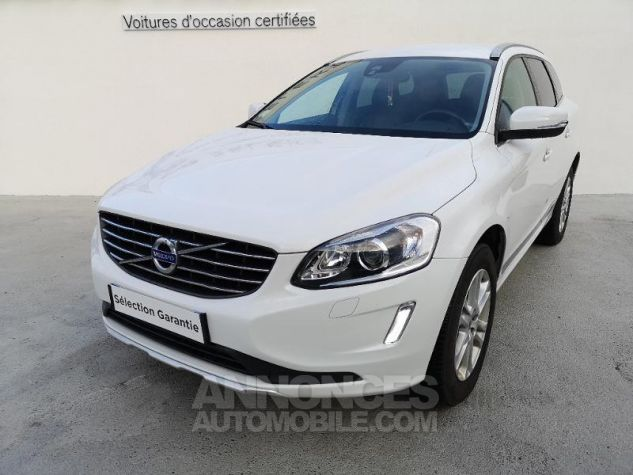 Volvo XC60 D4 AWD 181ch Summum Geartronic BLANC CRYSTAL Occasion - 0