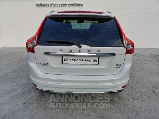 Volvo XC60 D4 AWD 181ch Summum Geartronic BLANC CRYSTAL Occasion - 5