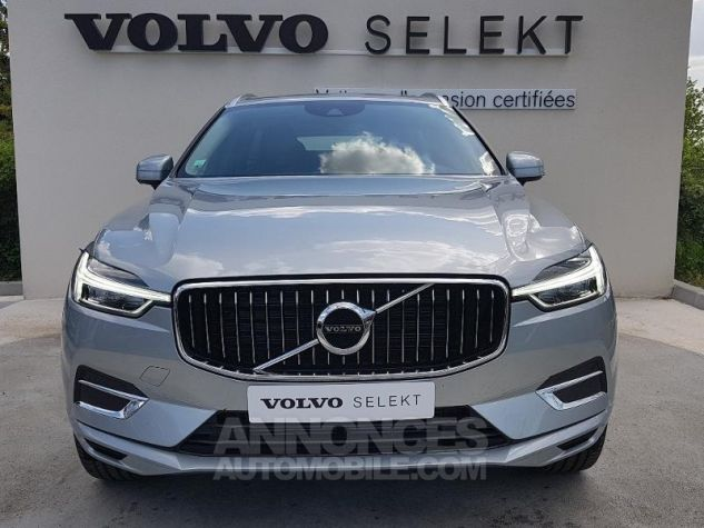 Volvo XC60 D4 AWD AdBlue 190ch Inscription Geartronic ARGENT ELECTRIQUE Occasion - 1