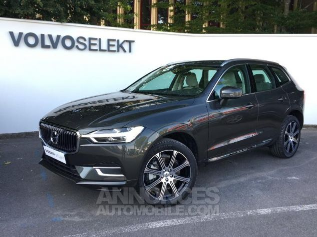 volvo xc60 d5 adblue awd 235ch inscription luxe geartronic gris fonc m tal occasion abb ville. Black Bedroom Furniture Sets. Home Design Ideas