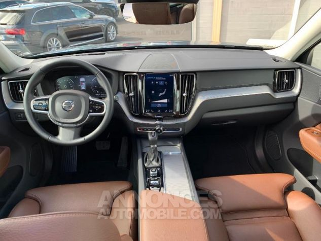 Volvo XC60 D5 AdBlue AWD 235ch Inscription Luxe Geartronic Gris Osmium Métallisé Occasion - 3