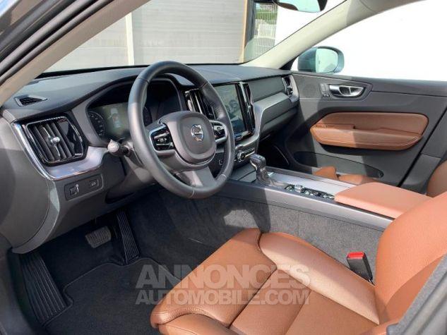 Volvo XC60 D5 AdBlue AWD 235ch Inscription Luxe Geartronic Gris Osmium Métallisé Occasion - 4