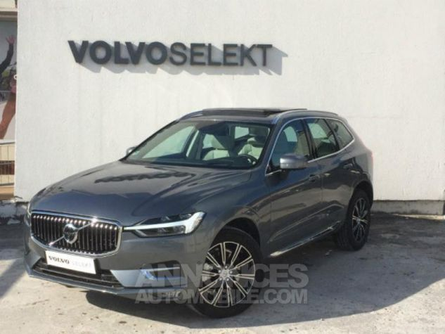 Volvo XC60 D5 AWD 235ch Inscription Luxe Geartronic Gris osmium Occasion - 0