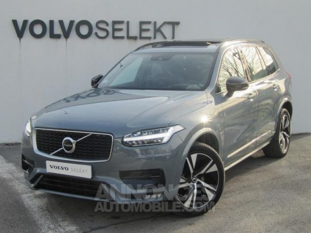 Volvo XC90 B5 AWD 235ch R-Design Geartronic 7 places Gris Tonnerre Occasion - 0