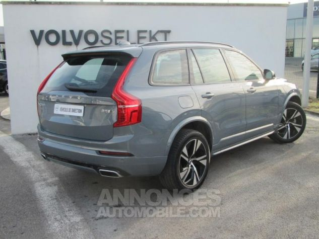 Volvo XC90 B5 AWD 235ch R-Design Geartronic 7 places Gris Tonnerre Occasion - 3