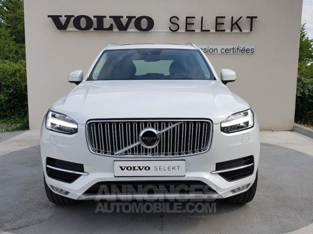 Volvo XC90 D5 AdBlue AWD 235ch Inscription Luxe Geartronic 7 places BLAN CRISTAL Occasion - 15