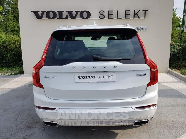 Volvo XC90 D5 AdBlue AWD 235ch Inscription Luxe Geartronic 7 places BLAN CRISTAL Occasion - 17
