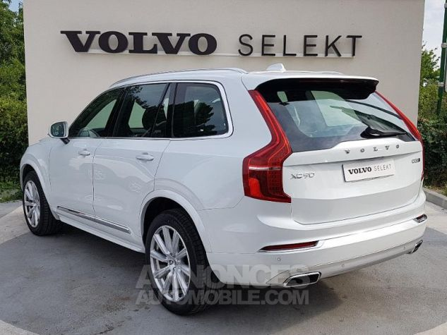 Volvo XC90 D5 AdBlue AWD 235ch Inscription Luxe Geartronic 7 places BLAN CRISTAL Occasion - 18