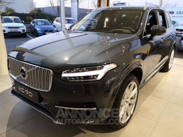Volvo XC90 D5 AdBlue AWD 235ch Inscription Luxe Geartronic 7 places bleu denim Neuf - 0