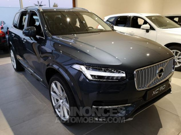 Volvo XC90 D5 AdBlue AWD 235ch Inscription Luxe Geartronic 7 places bleu denim Neuf - 2