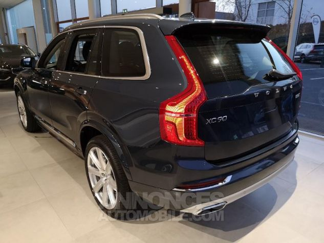 Volvo XC90 D5 AdBlue AWD 235ch Inscription Luxe Geartronic 7 places bleu denim Neuf - 3
