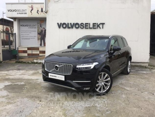 Volvo XC90 D5 AdBlue AWD 235ch Inscription Luxe Geartronic 7 places NOIR ONYX Occasion - 0