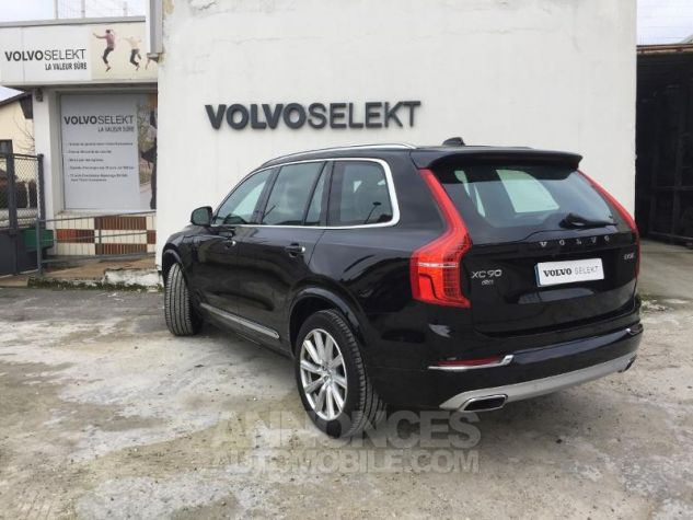 Volvo XC90 D5 AdBlue AWD 235ch Inscription Luxe Geartronic 7 places NOIR ONYX Occasion - 1