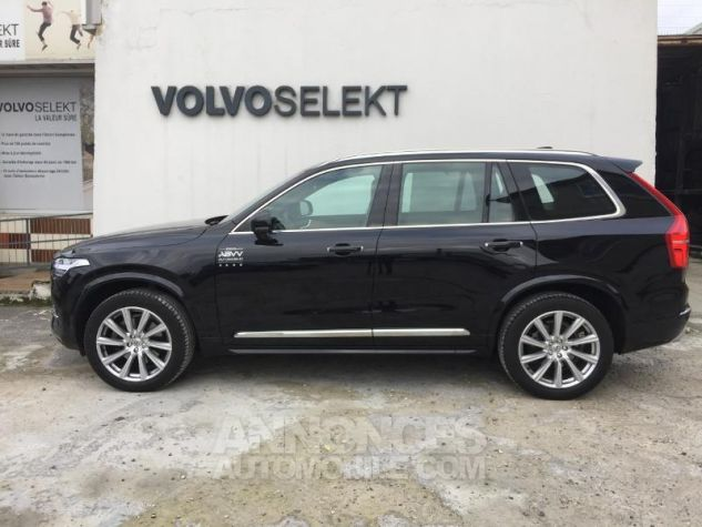 Volvo XC90 D5 AdBlue AWD 235ch Inscription Luxe Geartronic 7 places NOIR ONYX Occasion - 3
