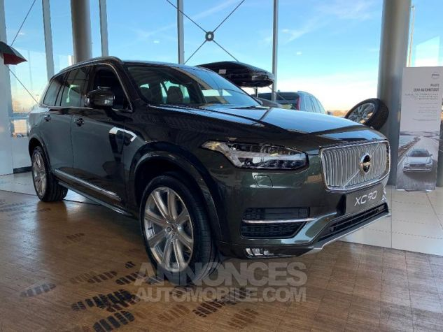 Volvo XC90 D5 AdBlue AWD 235ch Inscription Luxe Geartronic 7 places Gris Epicea Neuf - 0