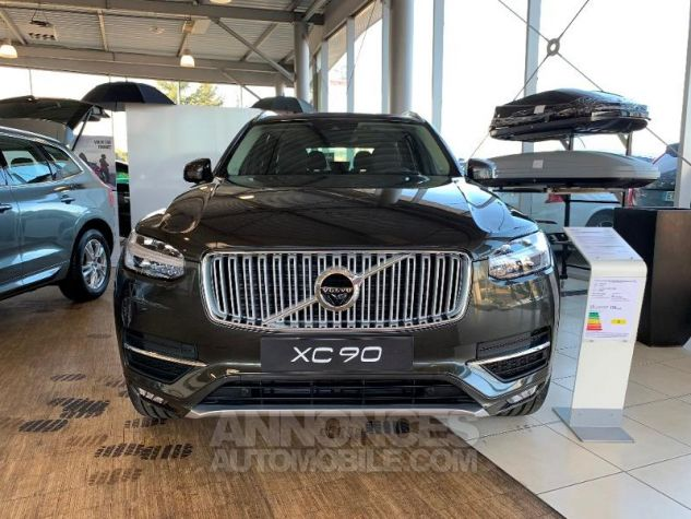 Volvo XC90 D5 AdBlue AWD 235ch Inscription Luxe Geartronic 7 places Gris Epicea Neuf - 1